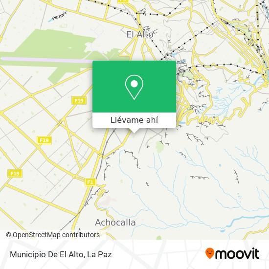 Mapa de Municipio De El Alto