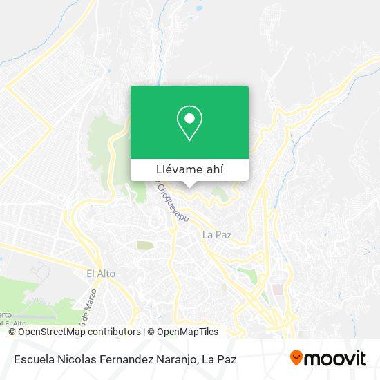 Mapa de Escuela Nicolas Fernandez Naranjo