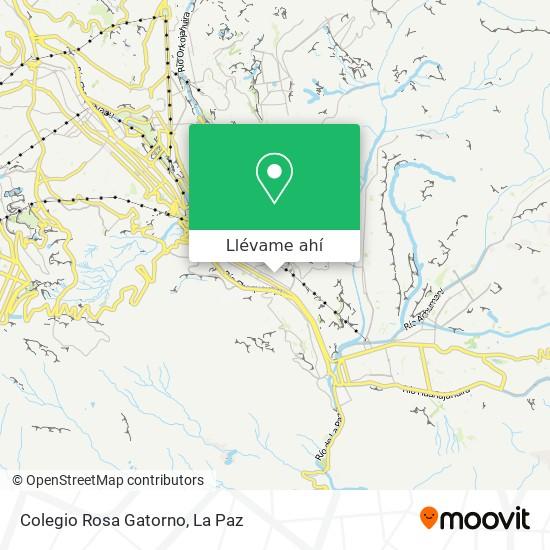 Mapa de Colegio Rosa Gatorno