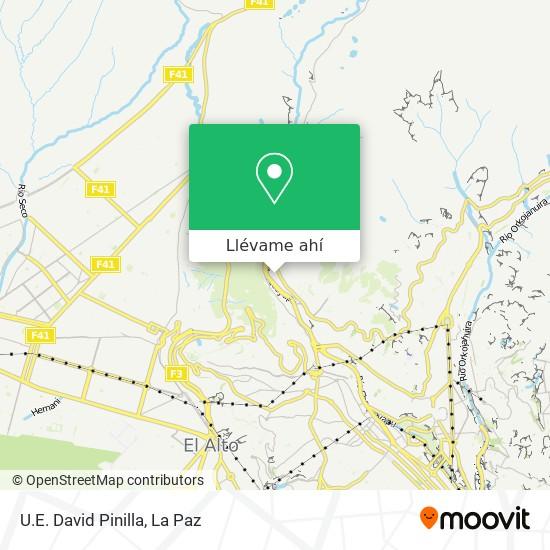 Mapa de U.E. David Pinilla