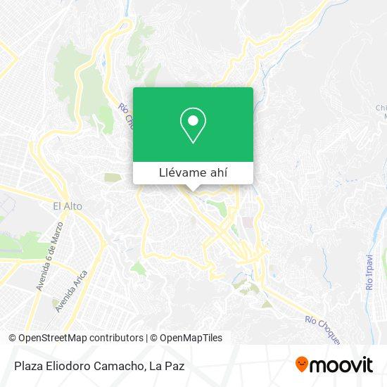 Mapa de Plaza Eliodoro Camacho
