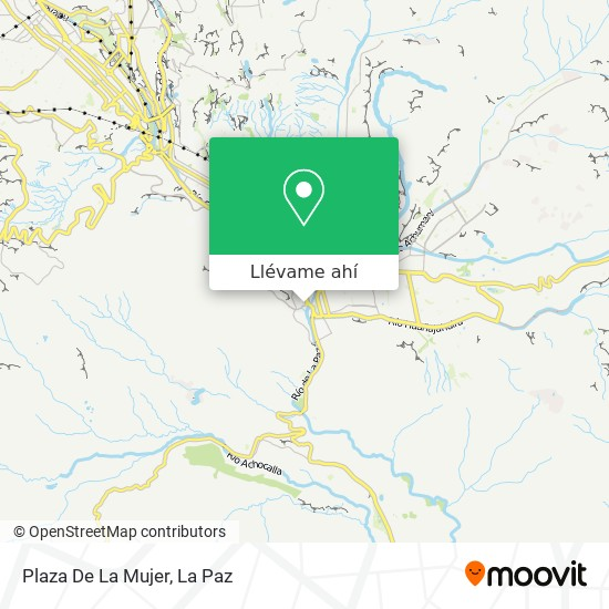 Mapa de Plaza De La Mujer
