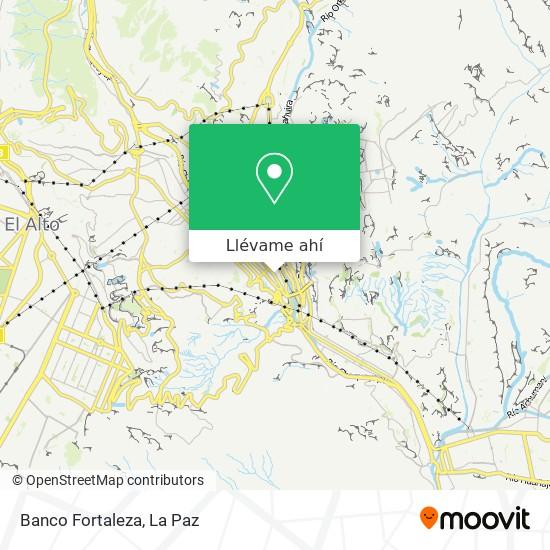 Mapa de Banco Fortaleza