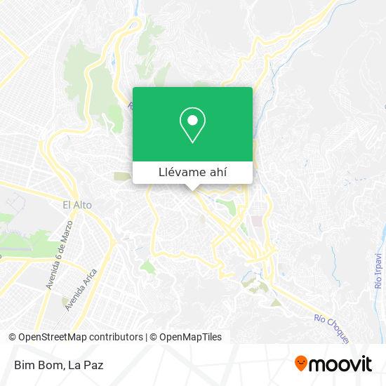 Mapa de Bim Bom