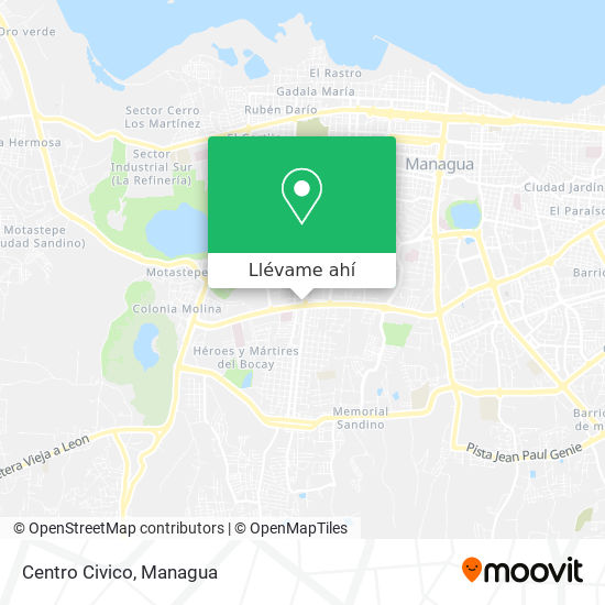 Mapa de Centro Civico