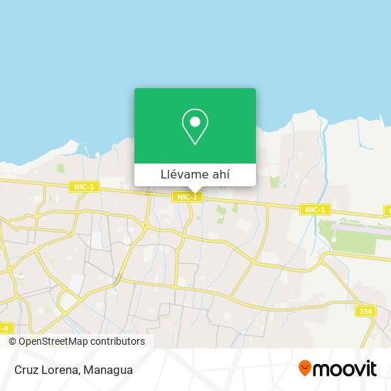 Mapa de Cruz Lorena