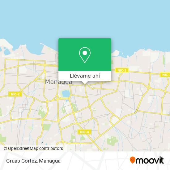 Mapa de Gruas Cortez