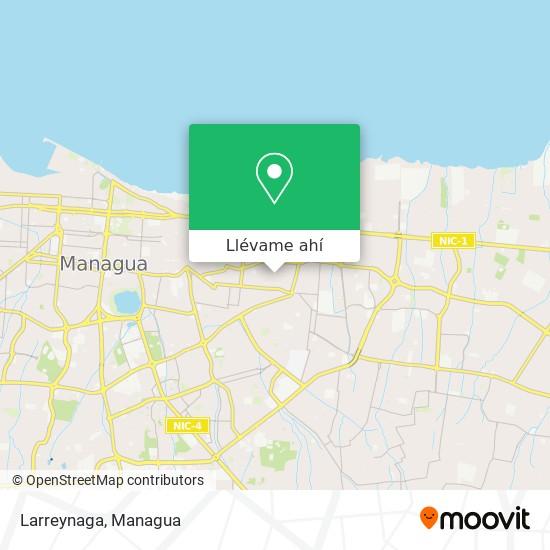 Mapa de Larreynaga
