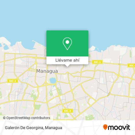 Mapa de Galerón De Georgina