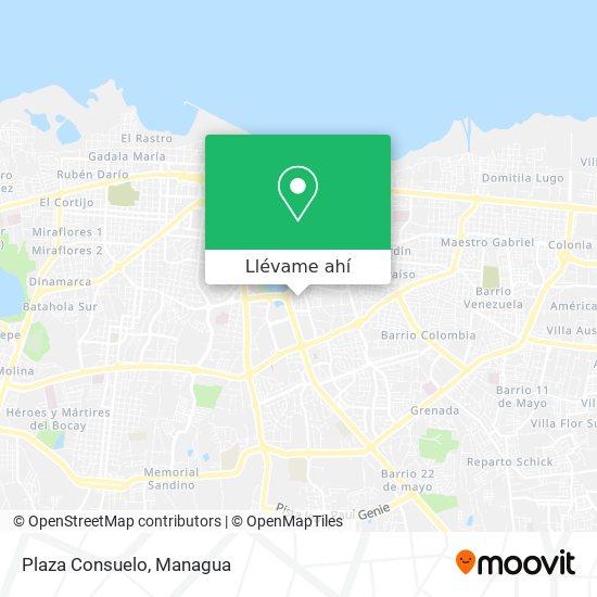 Mapa de Plaza Consuelo