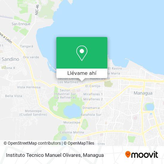 Mapa de Instituto Tecnico Manuel Olivares
