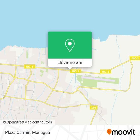 Mapa de Plaza Carmin