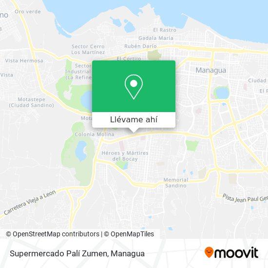 Mapa de Supermercado Pali
