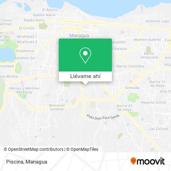 Mapa de Piscina