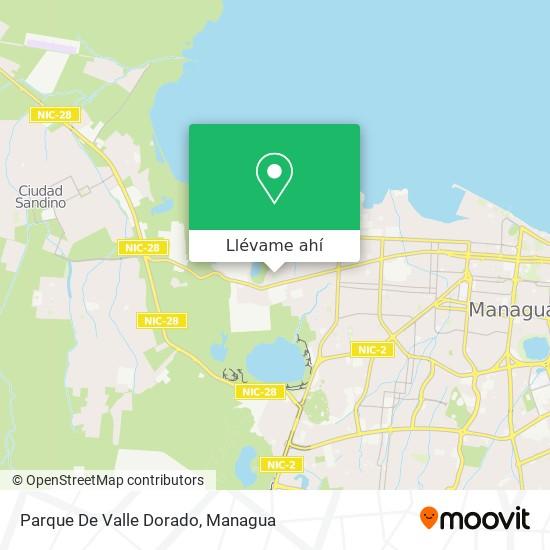 Mapa de Parque De Valle Dorado