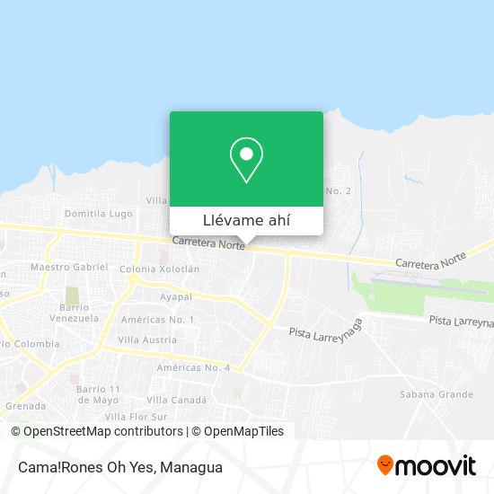 Mapa de Cama!Rones Oh Yes