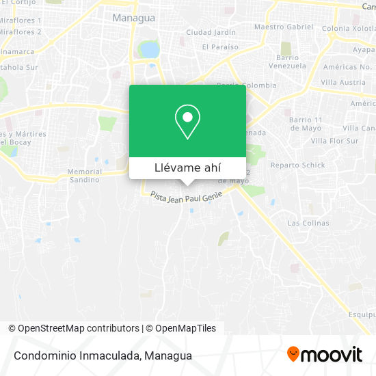 Mapa de Condominio Inmaculada