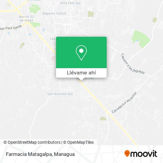 Mapa de Farmacia Matagalpa