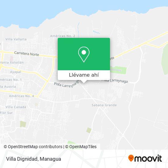 Mapa de Villa Dignidad