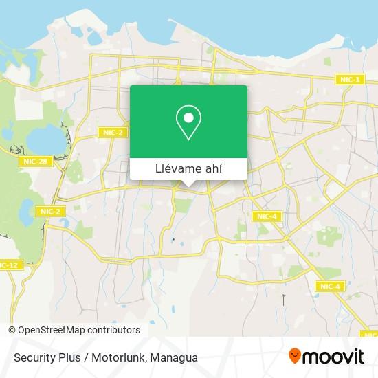Mapa de Security Plus / Motorlunk