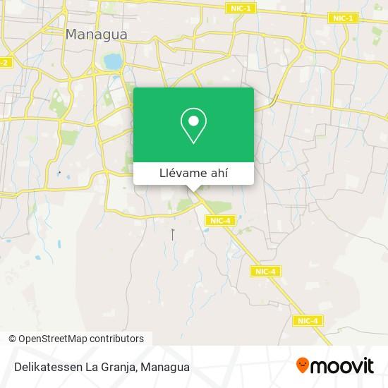 Mapa de Delikatessen La Granja