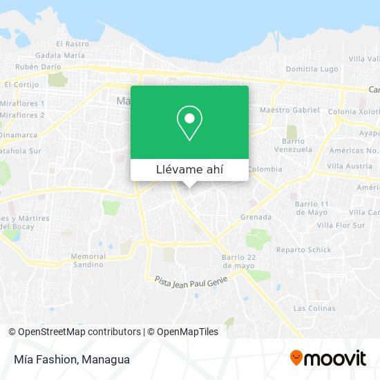 Mapa de Mia Fashion