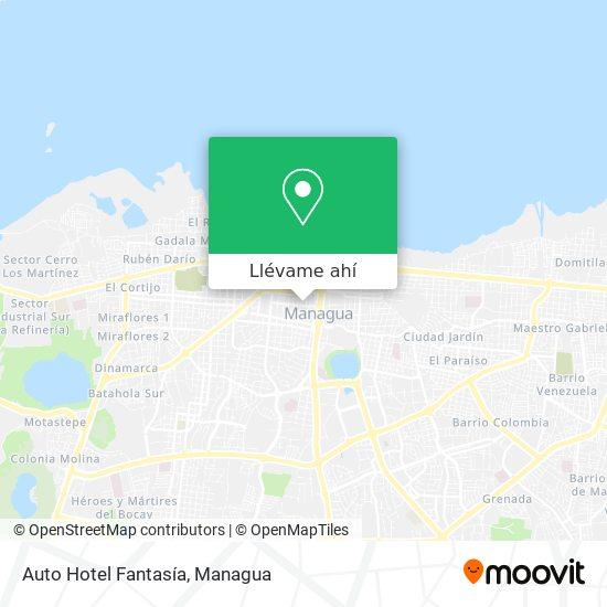 Mapa de Auto Hotel Fantasia
