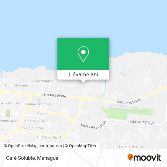 Mapa de Café Soluble