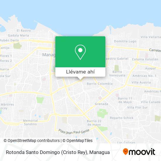 Mapa de Rotonda Santo Domingo (Cristo Rey)