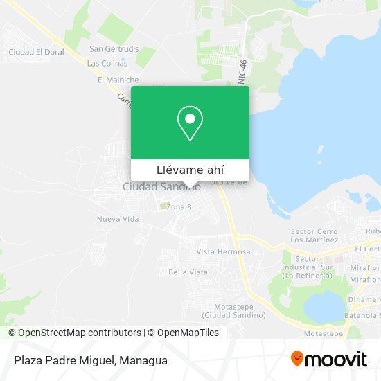 Mapa de Plaza Los Cabros