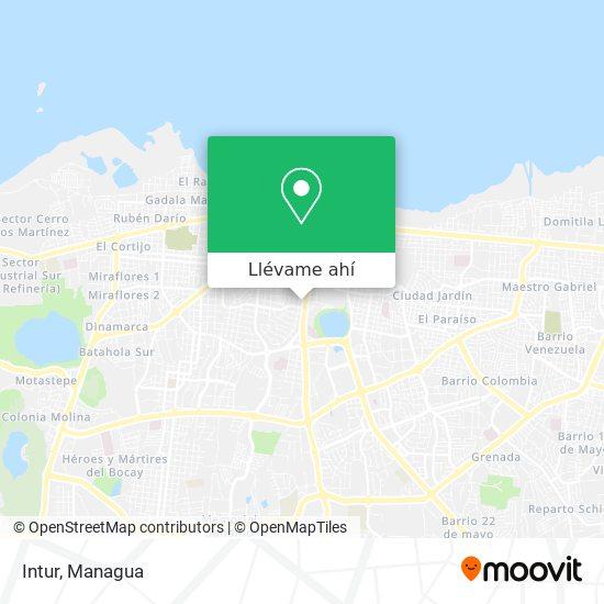 Mapa de Intur