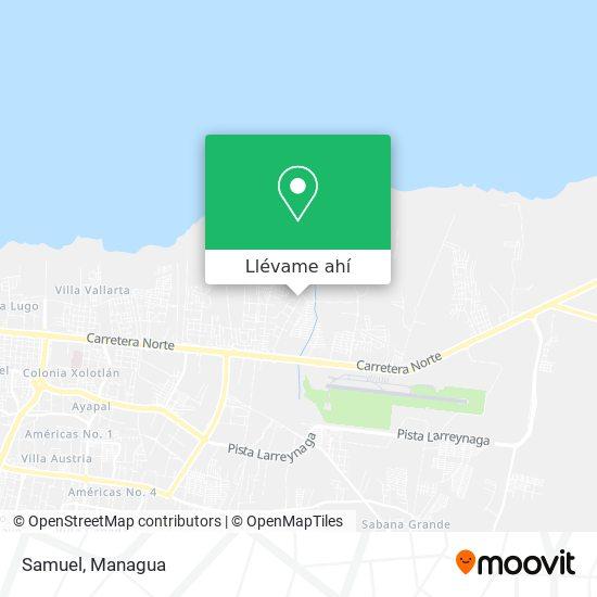 Mapa de Samuel