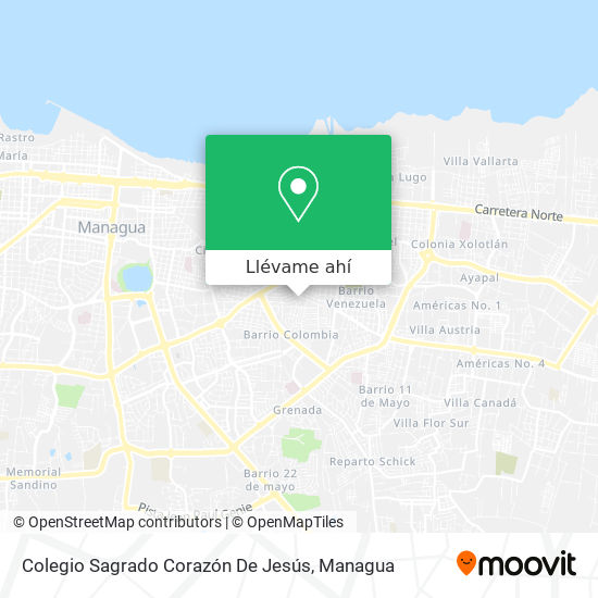 Mapa de Colegio Sagrado Corazón De Jesús