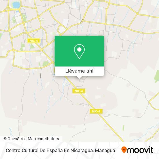 Mapa de Centro Cultural De España En Nicaragua