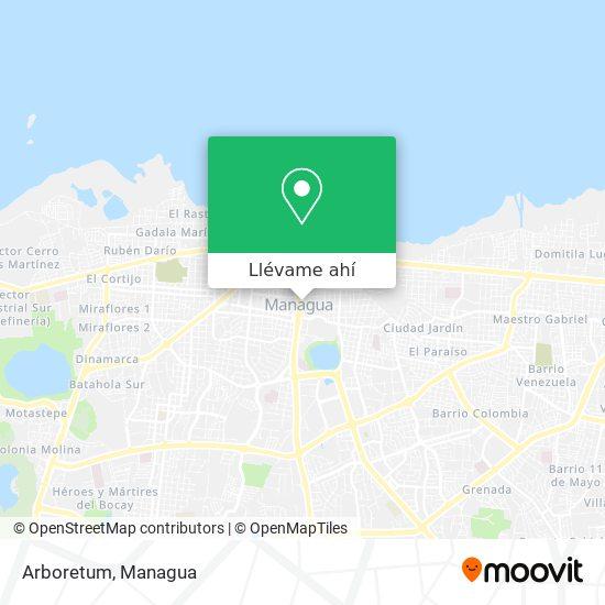 Mapa de Arboretum