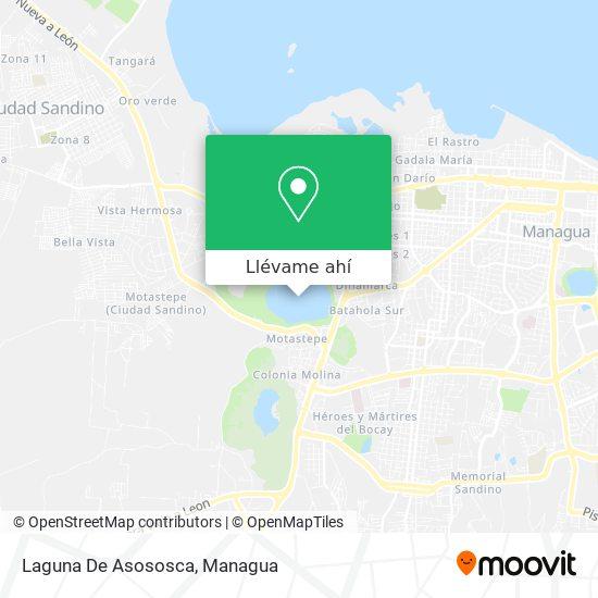 Mapa de Laguna De Asososca