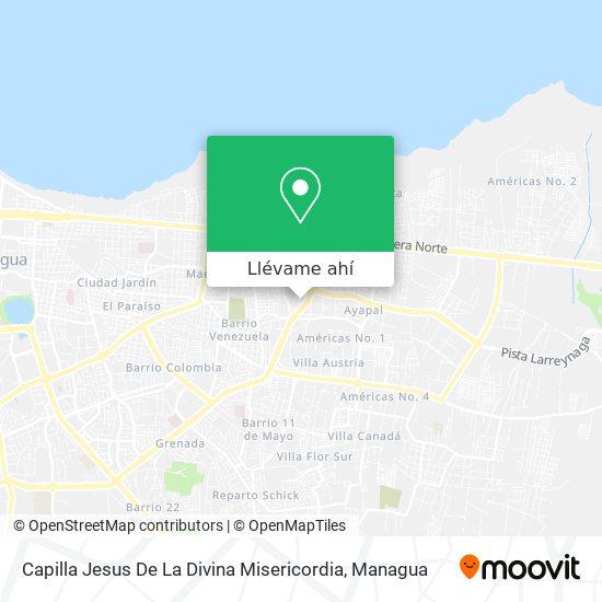 Mapa de Capilla Jesus De La Divina Misericordia
