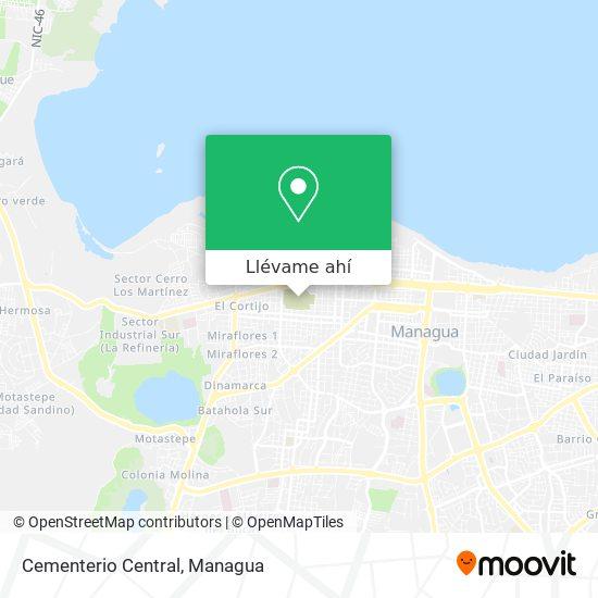 Mapa de Cementerio Central