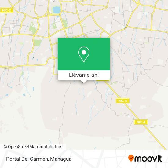 Mapa de Portal Del Carmen