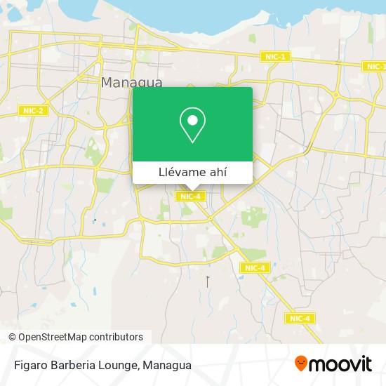 Mapa de Figaro Barberia Lounge