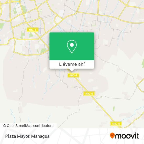 Mapa de Plaza Mayor