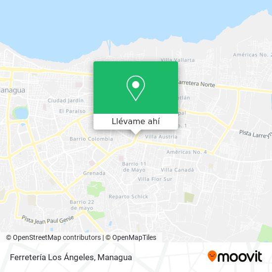 Mapa de Ferretería Los Angeles