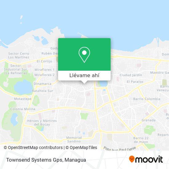 Mapa de Townsend Systems Gps