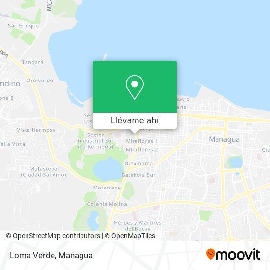 Mapa de Loma Verde