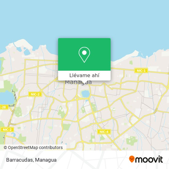 Mapa de Barracudas