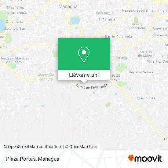 Mapa de Plaza Porta's