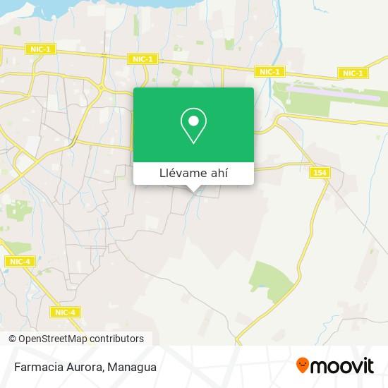 Mapa de Farmacia Aurora