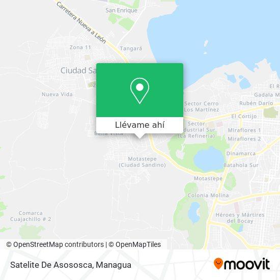 Mapa de Residencial Satelite Asososca