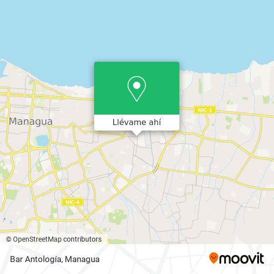 Mapa de Bar Antología