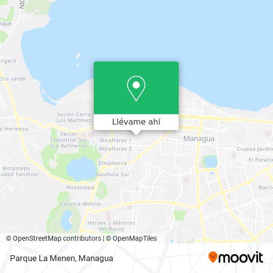 Mapa de Parque La Menen